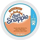 Keurig, Snapple, Diet Peach Iced Tea, K-Cup packs, 72 Count