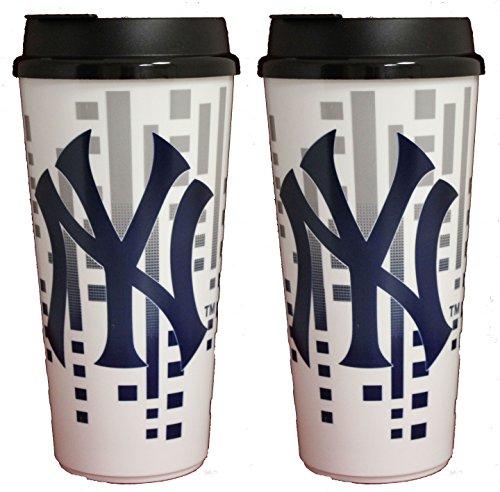 The Memory Company New York Yankees 32oz Single Wall Travel Mug 2 (New York Single)