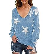 Kisscynest Women's Lightweight Drop Shoulder Boat Neck Batwing Sleeve Knit Sweater Pullover Tops