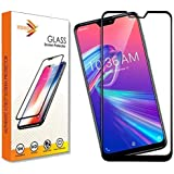 KOKO® 6D Tempered Glass with Curved Edges and 9H Hardness - Full Glue Edge-Edge Screen Protection for Asus ZenFone Max Pro M2 (Black) (Limited Period Launch Offer)
