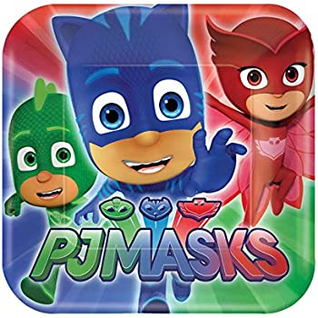 PJ Masks Small Paper Plates (8ct)