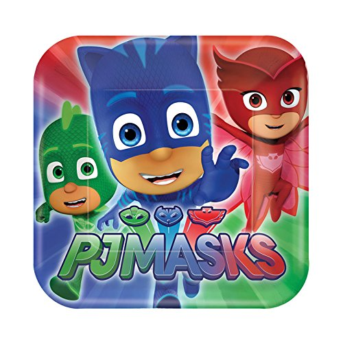 PJ Masks Small Paper Plates (8ct) ()