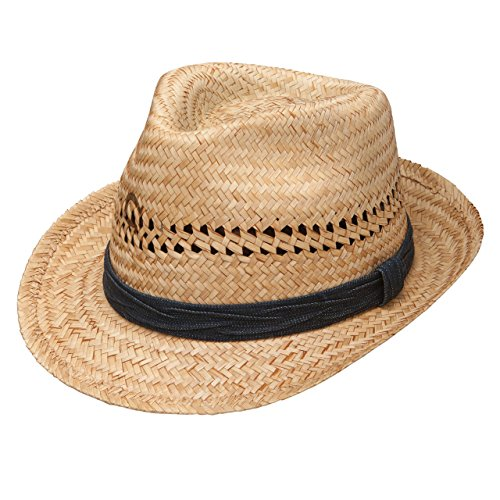 Charlie 1 Horse Hats Womens Cutoffs Fedora 2 Brim Straw Fashion Hat M