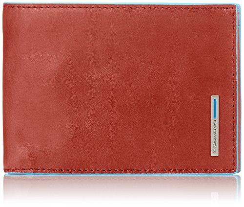 Piquadro Men's Wallet Blue Square PU257B2 by Piquadro
