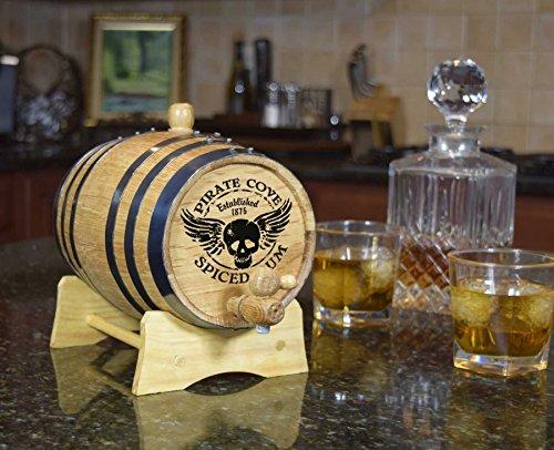 Decorative Rum Barrel (B246) by Thousand Oaks Barrel Co.