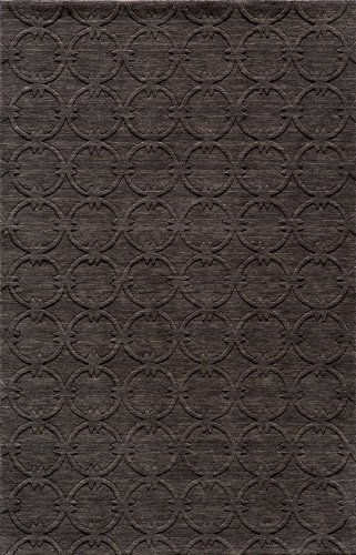 Momeni Rugs GRAMEGM-13CHR80B0 Gramercy Collection, 100% Wool Hand Loomed Contemporary Area Rug, 8' x 11', - Rug Gramercy 8'