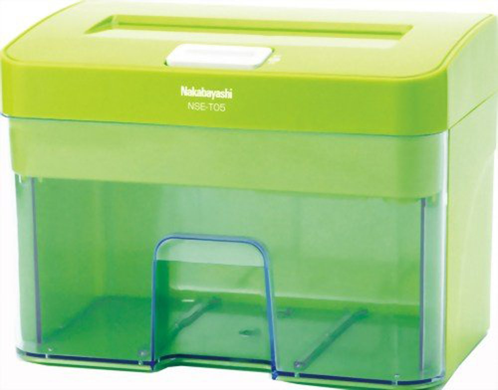 Nakabayashi Paper Shredders NSE-T05G Green