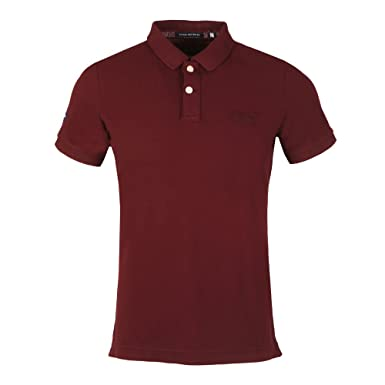 Superdry - Polo - para hombre Darkest Port: Amazon.es: Ropa y ...