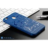 For XiaoMi RedMi 4 [May 2017 Release], Bigzook 3D Dragon Style Soft Silicon TPU Shockproof Armor Case Cover For Xiaomi Redmi 4 - Blue