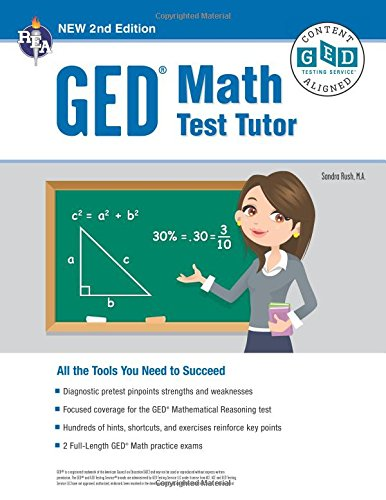 GED® Math Test Tutor, 2nd Edition (GED® Test Preparation)