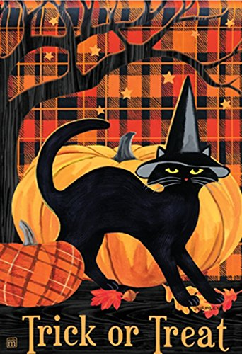 BreezeArt Trick or Treat Witch Hat Cat 28