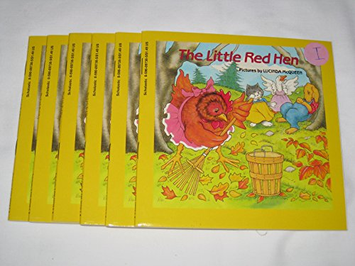 Leveled Guided Reading Set - The Little Red Hen by Lucinda McQueen (6 copies) (The Little Red Hen By Lucinda Mcqueen)