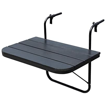 Amazon.com: Allbest2you Balcón Ajustable Plegable Mesa ...