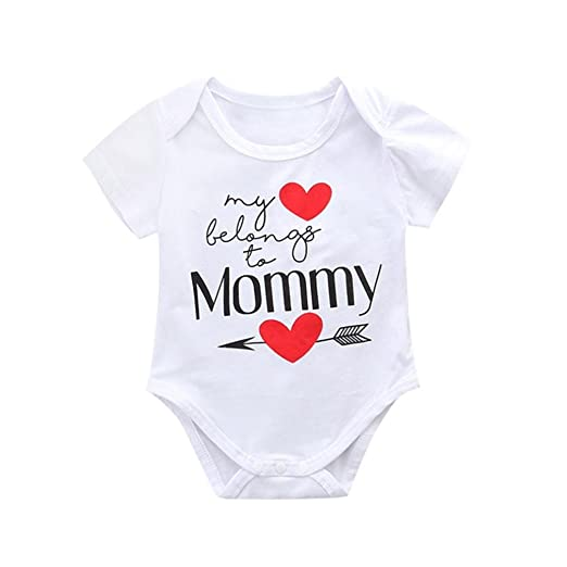ShiTou Toddler - Newborn Infant Baby Romper Boys Girls Jumpsuit Outfits (100)