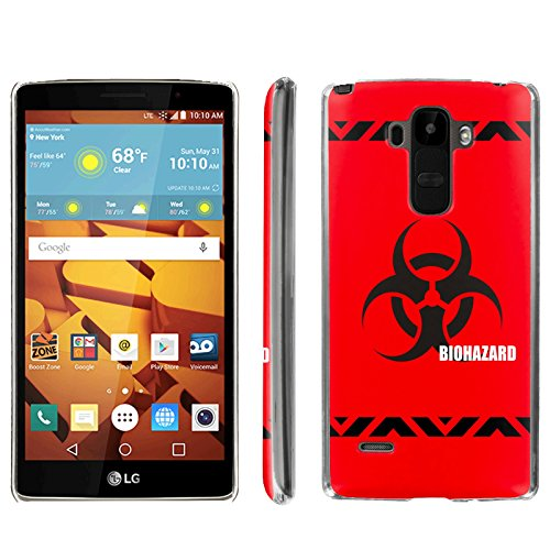 [ArmorXtreme] Phone Case for LG G Stylo LS770 / LG G4 Note Stylus / LG G Stylo H631 / MS631 [Clear] [Ultra Slim Cover Case] - [BioHazard]