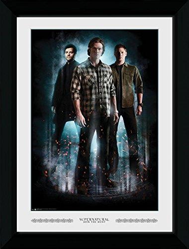 GB Eye Ltd Supernatural, Trio, con Stampa Artistica, 50 x 70 cm, Legno, Diversi, 55 x 75 x 2.9 cm 50x 70cm 55x 75x 2.9cm PFP012