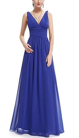Chifón De Las Mujeres Vestidos De Noche Elegantes Vestidos
