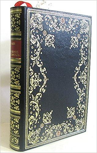 Les Crimes De L Amour Marquis De Sade Amazon Com Books
