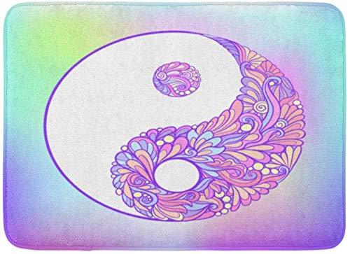 JoneAJ Símbolo Abstracto Yin y Yang Este Tatuaje Insignias Parche ...