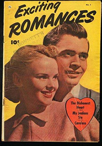 (EXCITING ROMANCES #1-1949-PHOTO COVER-LEGGY GGA VG)
