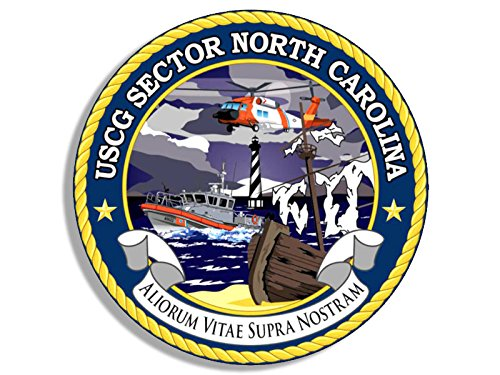 USCG Sector NORTH CAROLINA Seal Sticker (logo coast guard (North Carolina Seal)