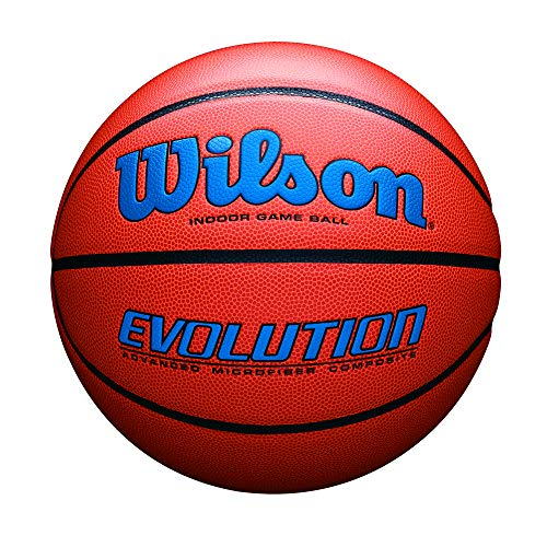 - Wilson Evolution Indoor Game Basketball, Official (29.5