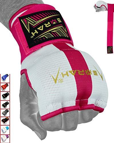 EMRAH Pro Training Ladies Boxing Inner Gloves Hand Wraps MMA Wraps Mitts