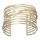Rivka Friedman Bamboo Knotted Mina Cuff Bracelet