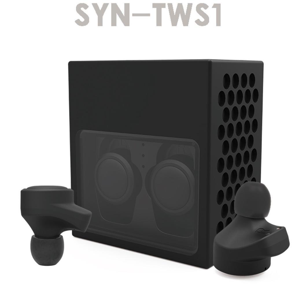 dreamyth Mini Tws TwinsワイヤレスBluetoothステレオヘッドセットインナーイヤーイヤホンEarbuds  ブラック B077HNRXLY