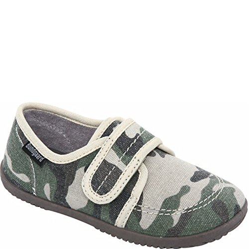 Bundgaard Kids Haff Canvas Slipper Camo Camouflage
