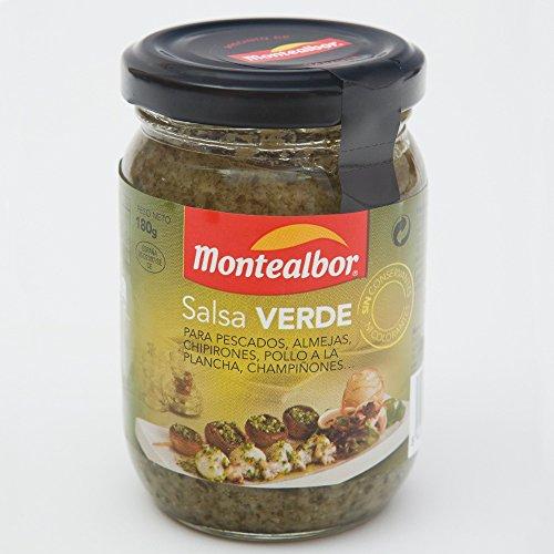 Montealbor, Salsa Verde Saus, 180 g