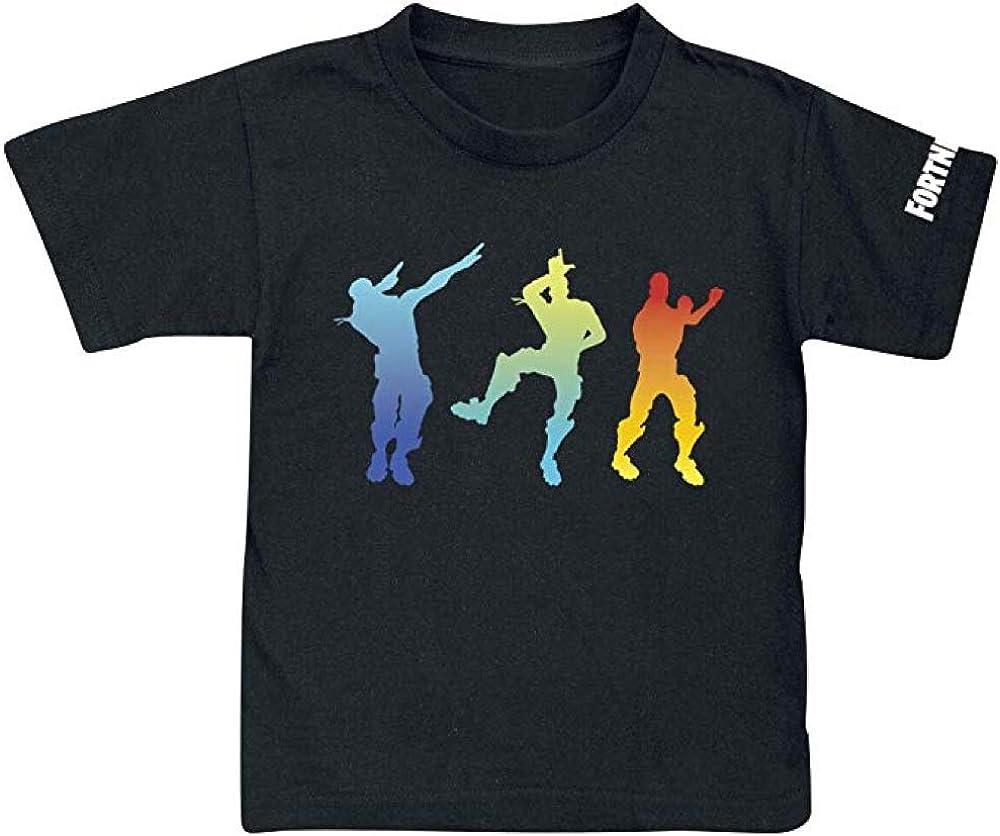 Black Fortnite Short Sleeve T-Shirt