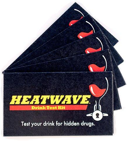 Ghb Drug Test - Heatwave 5 Card - 10 Tests