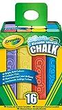 Kyпить Crayola 16 Count Sidewalk Chalk на Amazon.com