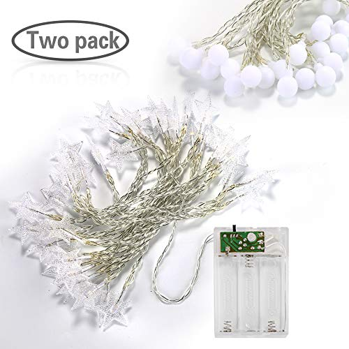 20 Led Festoon Party Lights White in US - 4