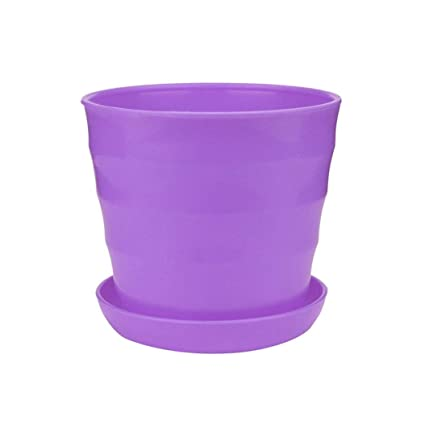 SUJING Colorful Plastic Flower Seedlings Nursery Pot, Planter, Flower Pots  Planter Seed Starting Pots