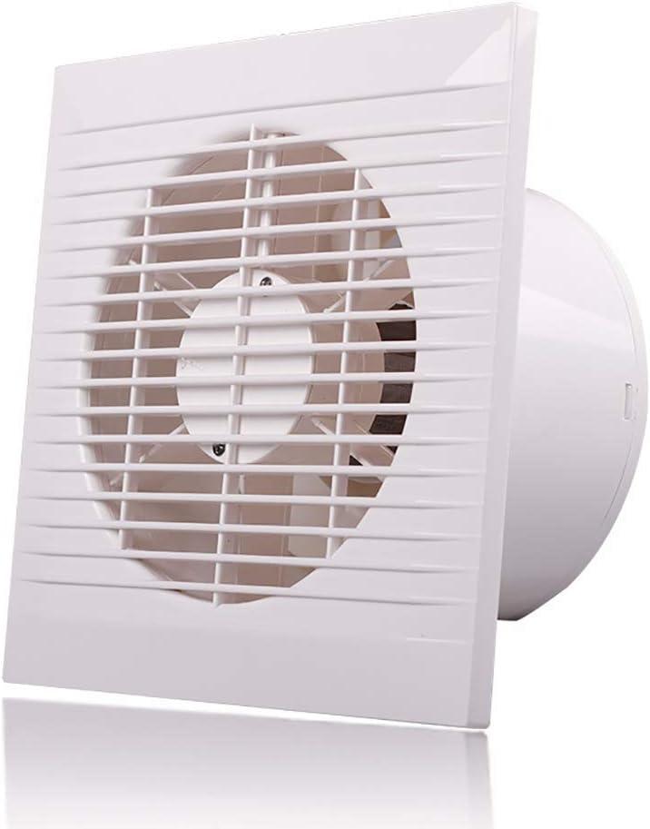 BCXGS Ventilador Extractor Silencioso, Extractor de Aire de Ultrafino Puede Eliminar el Humo y Olor, Adecuado para Instalación en Techos, Ventanas y Paredes