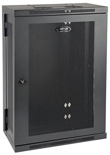 - Tripp Lite 18U Wall Mount Rack Enclosure Server Cabinet, Hinged, 13