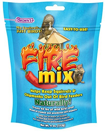 F.M. Brown's No Squirrels Just Birds! Fire Mix (Pack of 2)