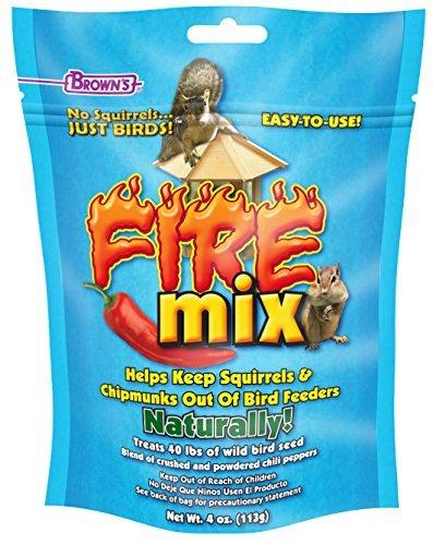 F.M. Brown's No Squirrels Just Birds! Fire Mix