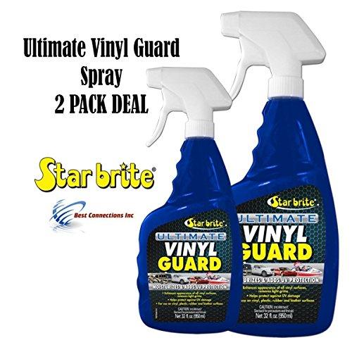 - Ultimate Vinyl Guard w/PTEF Adds UV Protection Car Motor StarBrite 95932 2 Pack