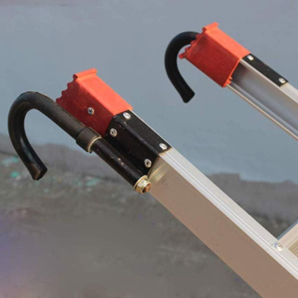 Suszian Estabilizadores de Gancho de Escalera telescópica Separador/Kit de Gancho de Techo/Estabilizador de Agarre y Protectores de Superficie para escaleras de extensión: Amazon.es: Hogar