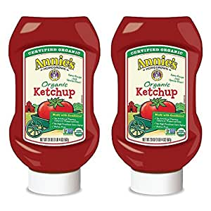 Annie's Homegrown Ketchup, 20 Ounce (Pack of 2)