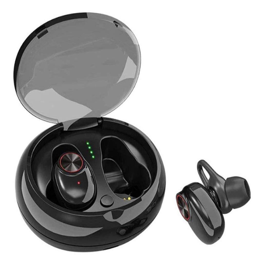 ERJAB in-Ear Waterproof Bluetooth Headphones Running Bluetooth Wireless Earbuds Noise Cancelling True Wireless Earphones Stereo with Microphone