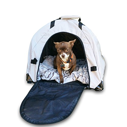 Olens Pet Dome - The Portable Pet Tent Shelter & Carry Bag for the Park & Beach (Profits Benefiting Pet - At Coconut Stores Point