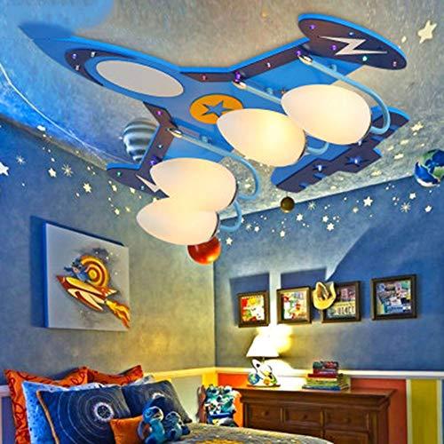 Memayple Luz de Techo del Aeroplano con teledirigido Perfecto para la habitación de la Historieta del Dormitorio de los...