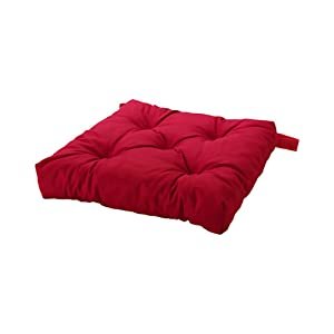 IKEA Home Living Room Decor Malinda Chair Cushion, Red