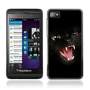 YOYOSHOP [Dark Panther Cat] Blackberry Z10 Case