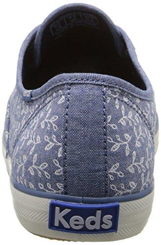 Keds Fashion Sneaker Botanical Champion Women's Chambray Leaves rwvaIrWq