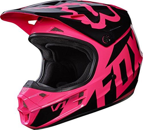 Helmet Race Small (Fox Racing 2017 Race Adult V1 Motocross Motorcycle Helmets - Pink / Small)